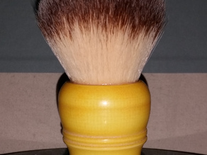 Chubby-style shaving brush handle for 28mm knot