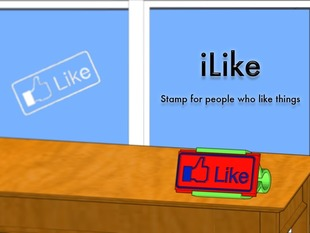 iLike Stamp - Stamp for people who like things