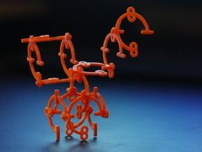 Simple Sculpture Construction Kit