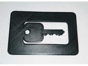 Duplicating House Keys Credit Card (Schlage Remix)
