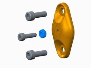 Vertex K8400 couvercle d'extrémité réglable (end cap)