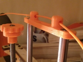 Printrbot Simple 1401 Z axis Smooth Rod Guide And Fillament Guide