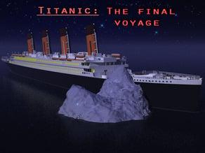 Titanic: The last voyage playset