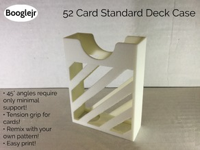 52 Card Standard Deck Holder