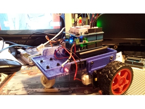 Arduino Powered Bluetooth Controlled Robot