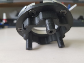 Thrustmaster T500 QR wheel adapter (direct mount)
