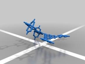 Metal-organic framework fragment
