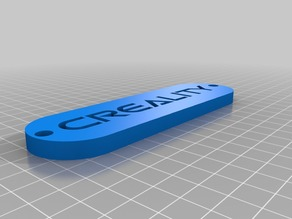 3D Creality Logo Basic - For Printer Structure