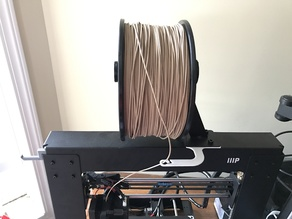 Even More Extended Spool Holder for Wanhao Di3/Maker Select/Cocoon Create