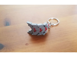 Flexible Factorio Keychain 2.0