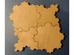 Koch square fractal curve