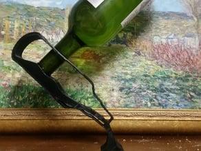 Emptying Bottle Shaped Wine Balancer