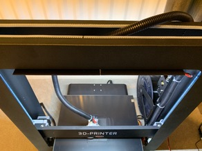 JGAurora A5 24v LED Tape Bed Light Bracket