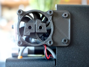 Printrbot Simple Metal extruder fan cover/mount