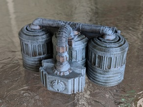 Star Wars Legion Terrain - Fuel and Chemical Tanks