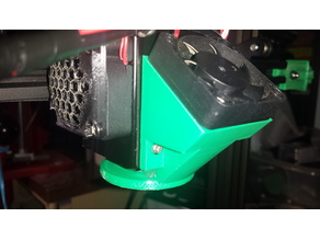 Zonestar Z8XM2 Part Cooling Ring Fan Duct