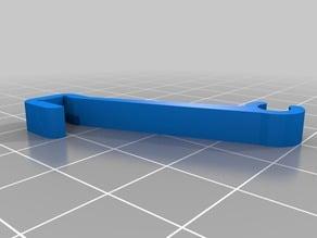 Door hold clip for Duplicator 4S