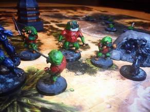 Froggle Raiding Party