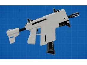Fortnite Burst SMG (Vector) 3D Model