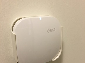 Wall mount for eero wireless unit