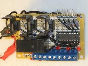 Extruder External Mosfet Power Board