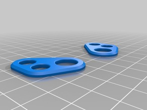 Skyzone FPV Goggles button protector - Fixed and rounded version
