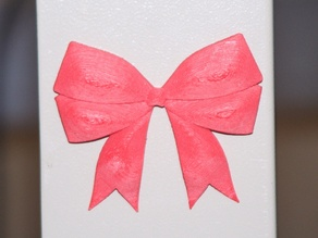 Christmas Bow Refrigerator Magnet