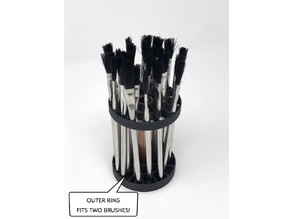 Paint Brush Holder 01