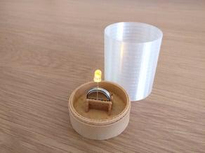 Led TeaLight Lantern