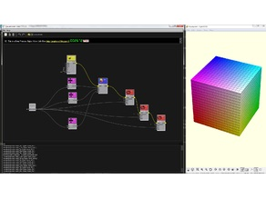 Rgb Cube with Graphscad