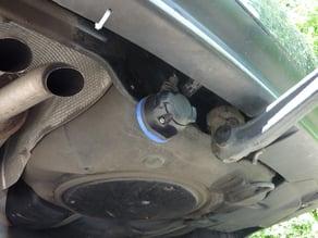 Halter für Anhängerkupplung; VW Passat 3B. Hersteller Westfalia; trailer electrical holder; Typ 321-504-691-104