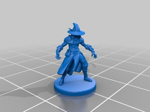 Elf Wizard Miniature (Male)