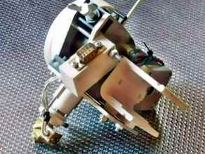 Fast-clamp mounting for original K8200/3Drag extruder