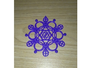 snowflake dextrogira esvastica