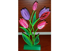 """Stand for Quilling """"Tulips"""""""