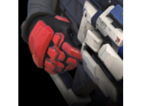 Soldier 76 Hand Armor