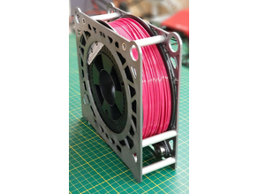 Filament spool box