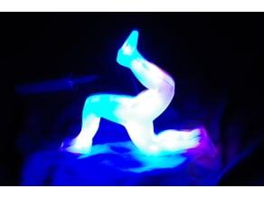 3 Legs of Man triskellion light USB