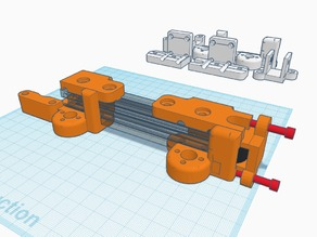 [AM8] MGN12 Z-Axis + 2020 X-Axis w/ Mini V Gantry carrier