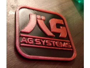 AG Systems Beer Mat / Drinks Coaster from Wipeout Game