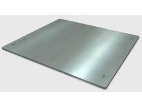 TEVO Tornado plan milled Aluminium Plate ( 6mm & 8mm) DXF