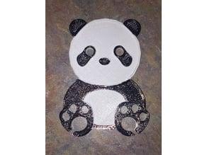 Panda Bear Earbud wrapper