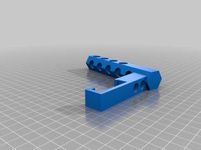 My Customized Sujeta rollo bobina parametrico   para Prusa i3 RepRap / Parametric  Spool Holder  Customizer