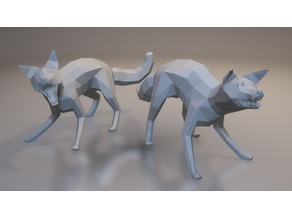 Wild Foxes (LowPoly)
