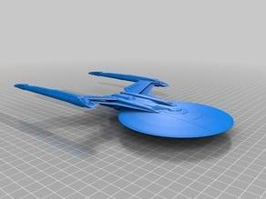 Star Trek - Federation Shepard Class (USS Kerala/USS Gagarin)