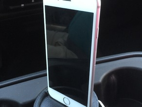 iPhone 6/7 Cup Holder with optional base