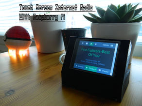 Touchscreen Internet Radio
