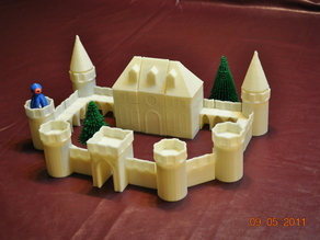 Castle Block Playset - UPDATED 9.5.2011
