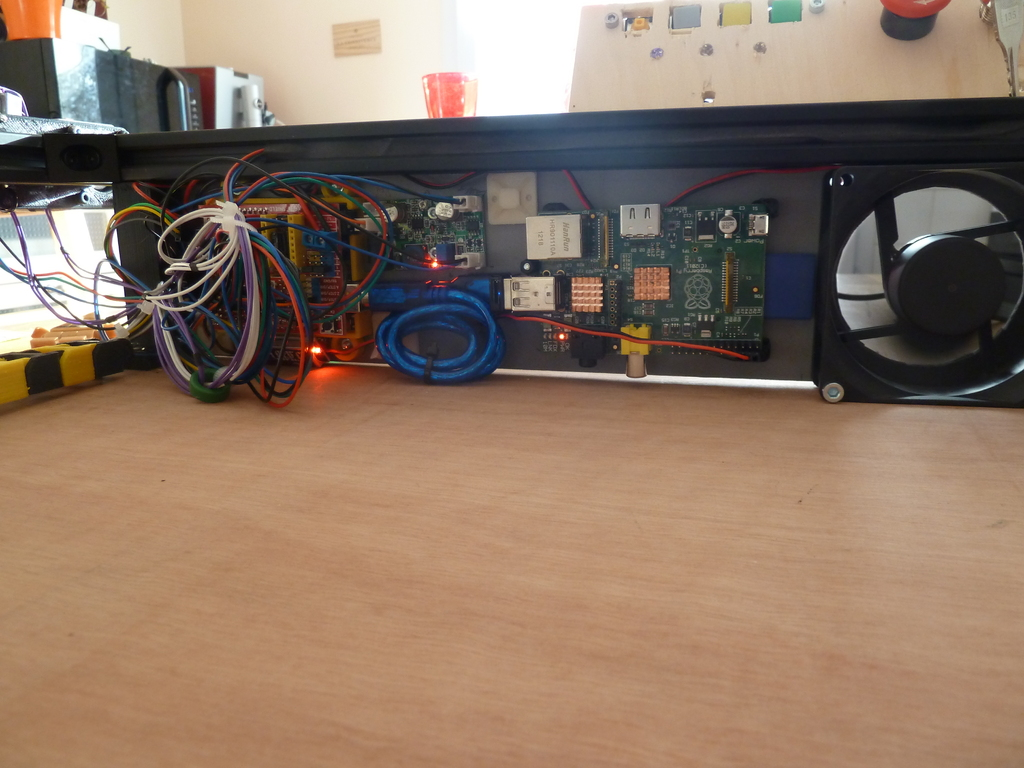DIY Wifi Laser cutter and engraver with 3D printed parts by