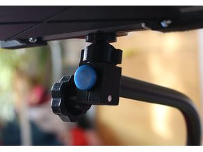 DSLR rig mount for Luxpad with ball joint